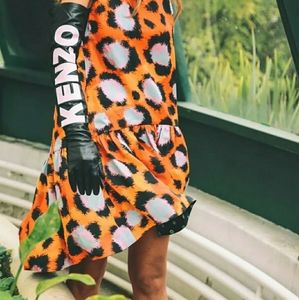 Kenzo for h&m patterned dress